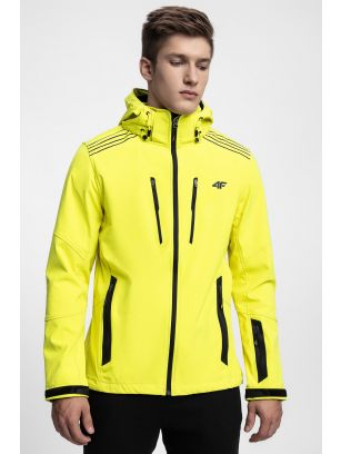 Men's softshell jacket SFM200 - neon yellow
