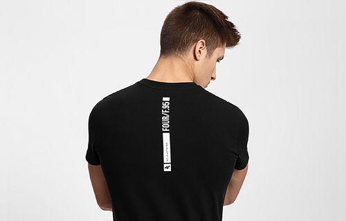Men's T-shirt TSM207 - black