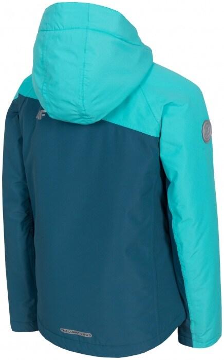 1336480e8 Ski jacket for older children (girls) JKUDN402 - sea green