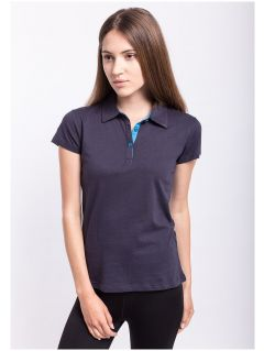 Women's polo shirt TSD050 - navy blue