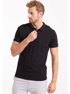 Men's polo shirt TSM051 - BLACK