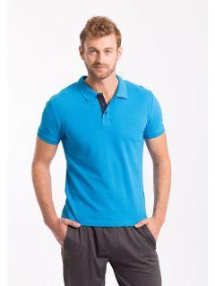 Men's polo shirt TSM050 - light blue