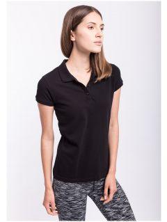 Women's polo shirt TSD051A - black