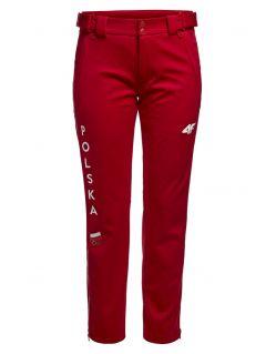 Women's trekking pants Poland PyeongChang 2018 SPDT900R - cherry red