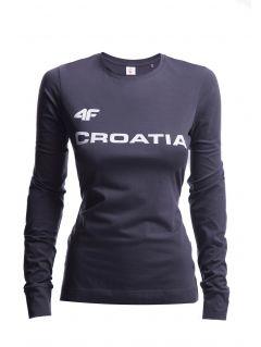 Women's longsleeve Croatia Pyeongchang 2018 TSDL750 - graphite