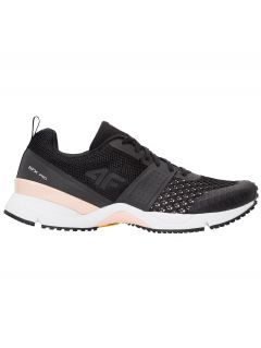 Women's running shoes OBDS100 - black
