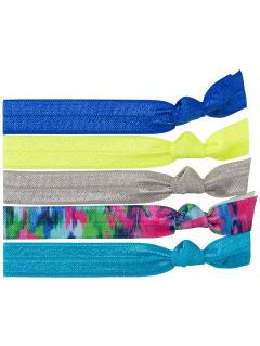 Hair ties (5 pieces) for girls JOPA208 - multicolor