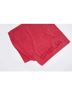 Sports towel Serbia PyeongChang 2018 RECU700 - cherry red