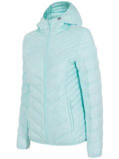 Women's down jacket KUD005 - mint