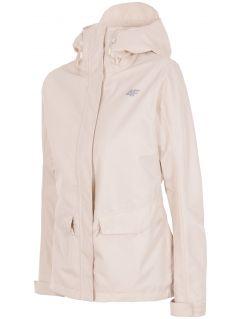 Women's urban jacket KUD007 - beige