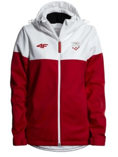 Women's softshell Croatia Pyeongchang 2018 SFD750 - red cherry