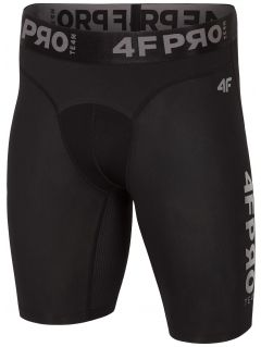 Men's baselayer shorts 4FPRO SPMF404 - black allover