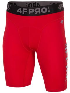 Men's baselayer shorts 4FPRO SPMF404 - red allover