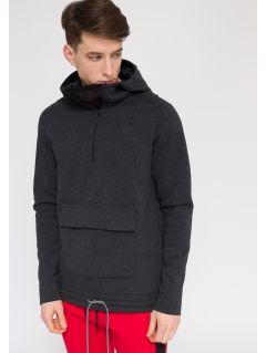 Men's sweatshirt BLM205 - gray melange