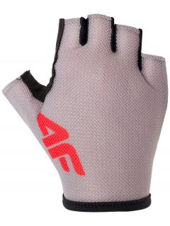 Unisex cycling gloves RRU300 - gray