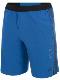 Men's active shorts SKMF255 - blue