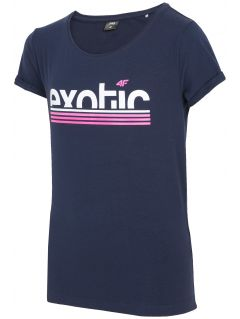 T-shirt for big girls jtsd218a - dark navy