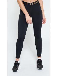 Women's active leggings SPDF109 - black