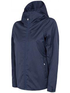 Women's jacket KUD240 - cold light grey melange