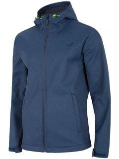 Men's softshell jacket SFM300 - navy blue melange