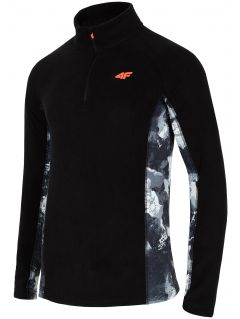 Men's fleece underwear (top) BIMP250 - black