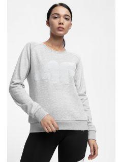 Women's sweatshirt BLD300 - light grey melange