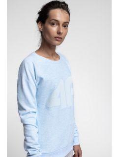 Women's sweatshirt BLD300 - light blue melange