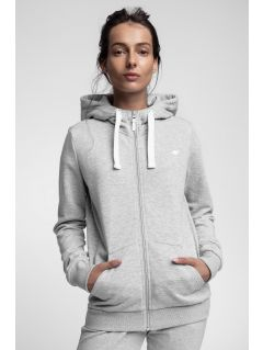 Women's hoodie BLD301 - light grey melange