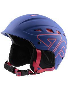 Women's ski helmet KSD250 - cobalt blue