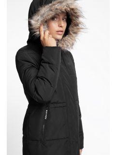 Women's down coat KUD008 - black