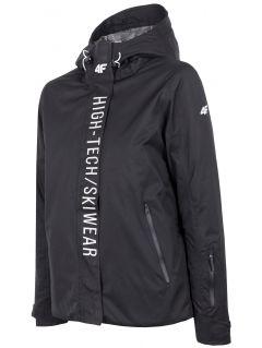Women's ski jacket KUDN162 - black