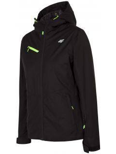 Women's ski jacket KUDN302 -  black