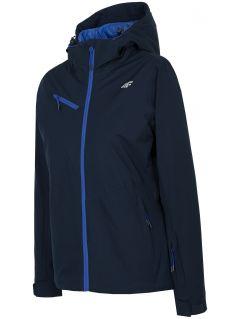 Women's ski jacket KUDN302 - navy
