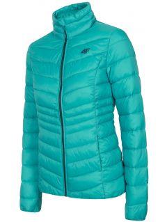 Women's down jacket KUDP210 - turquoise