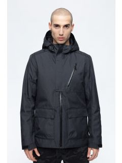 Men's urban jacket KUM205 - black melange