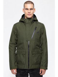 Men's urban jacket KUM205 - khaki melange
