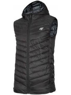 Men's down vest KUMP302 - black