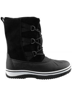 Women's snow boots OBDH202 - black