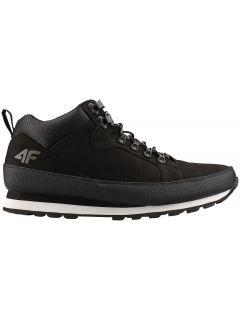 Men's hiking shoes OBMH202 - black