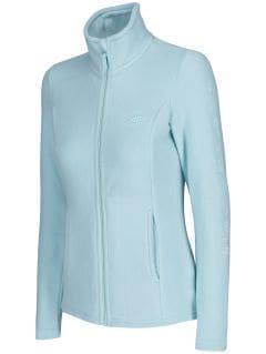 Women's fleece sweathshirt PLD300 - mint