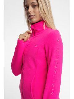 Women's fleece sweathshirt PLD300 - pink