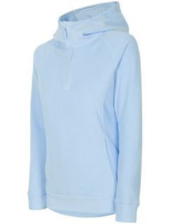 Women's fleece hoodie PLD301 - light blue