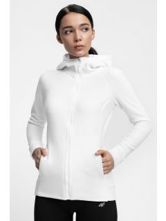 Women's fleece hoodie PLD302 - white