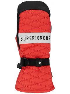Women's ski gloves RED250 - red