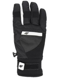Women's ski gloves RED251 - black