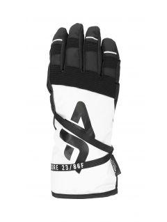 Women's ski gloves RED253 - white