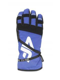 Women's ski gloves RED253 - cobalt blue