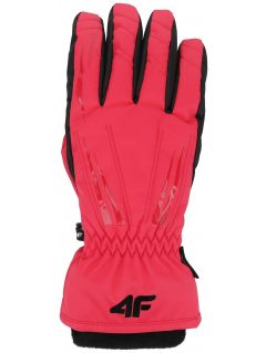 Women's ski gloves RED350 - pink