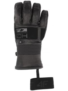 Men's ski gloves REM153 - black