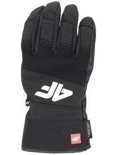 Men's ski gloves REM250 - black
